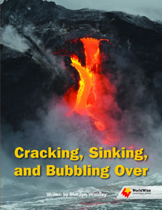 Cracking , Sinking, and Bubbling Over