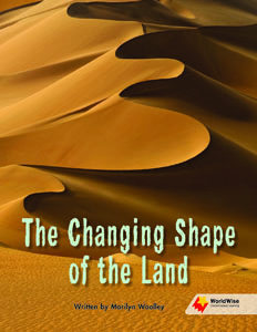 The Changing Shape of the Land