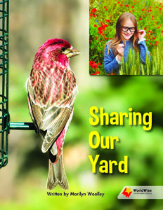 Sharing Our Yard